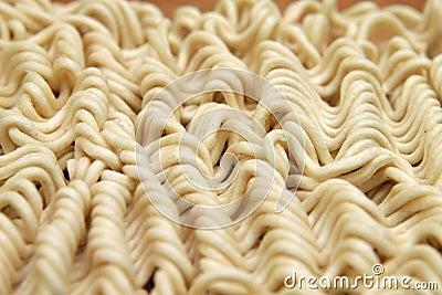Noodles close up