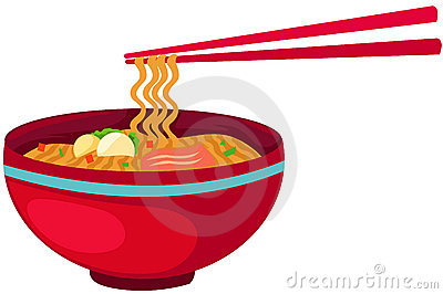 Noodles Food With Chopsticks Royalty Free Stock Photo - Image ...