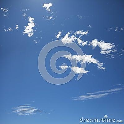 Noon sky