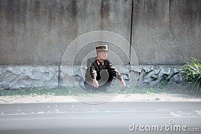 Noord-Korea 2013 Redactionele Stock Foto