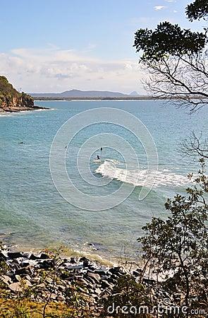 Noosa Surfing Beac - Queensland, Australia