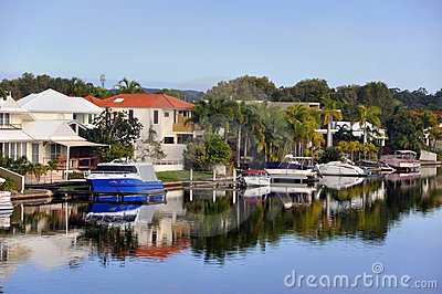 Noosa Waters Canals - Queensland, Australia
