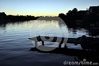 Noosa Waters Sunset - Queensland, Australia