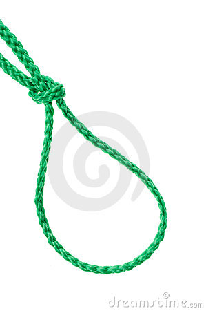 Noose from a cord