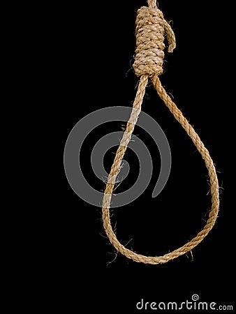 Noose hanging