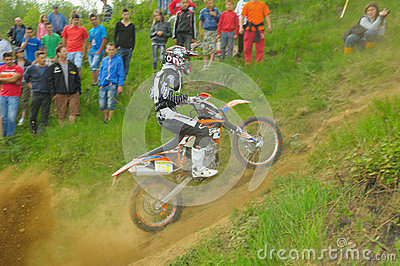Norbert Levente JOZSA prologue uphill Editorial Stock Photo