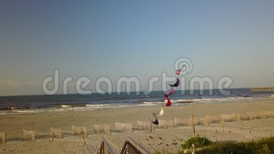Nord Carolina Beach de côte clips vidéos