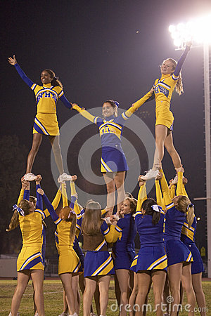 Nordhoff Rangers cheerleaders Editorial Photography