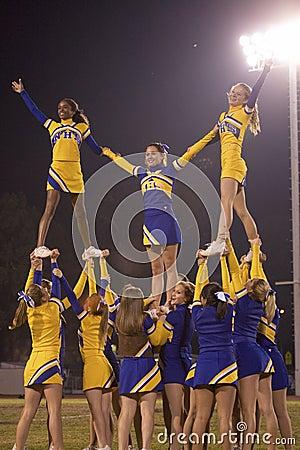 Nordhoff Rangers cheerleaders Editorial Photography