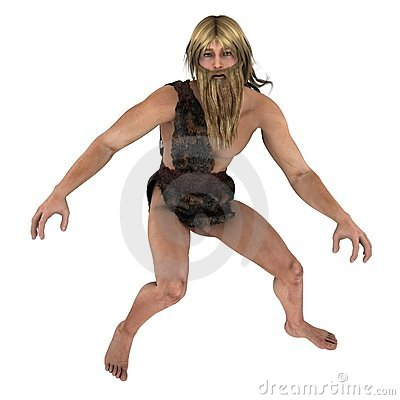 Nordic caveman