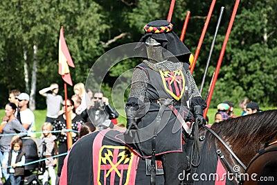 Nordic Knights Tournament Editorial Stock Photo