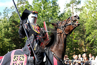 Nordic Knights Tournament (Sweden) Editorial Stock Image