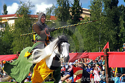 Nordic Knights Tournament (Sweden) Editorial Image