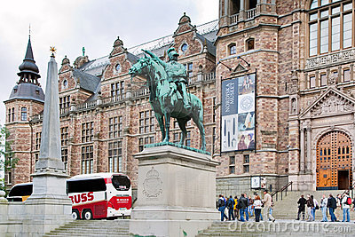 The Nordic Museum in Stockholm, Sweden Editorial Stock Image