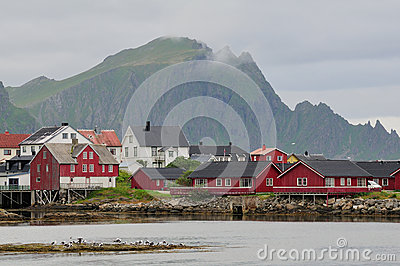 Nordic town