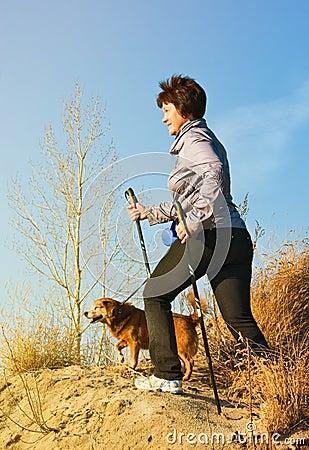 Free Nordic Walking Stock Images - 38757624