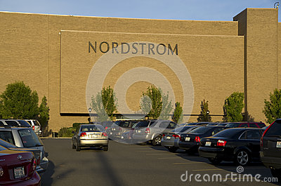 Exterior of Nordstrom department store at Northgate Mall Seattle.