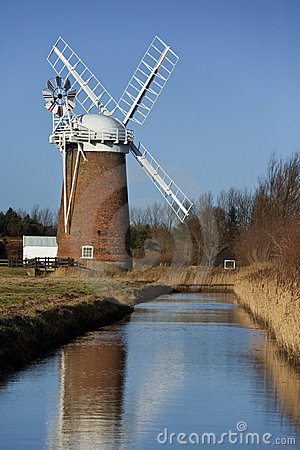Norfolk Broads in the South East of England