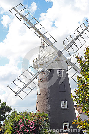 A Norfolk windmill.