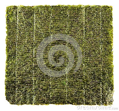 Free Nori Edible Seaweed Sheet Royalty Free Stock Image - 45407316