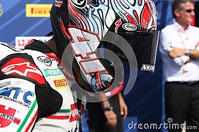 Noriyuki Haga - Aprilia RSV4 Factory - PATA Racing Editorial Photography