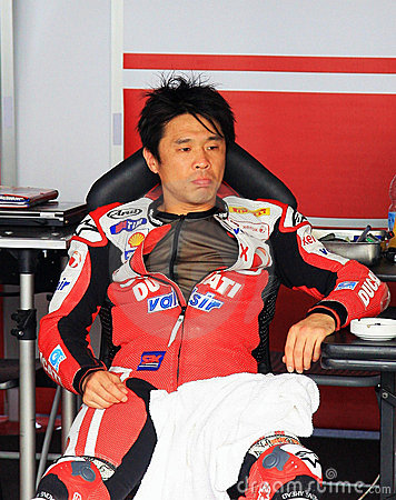 Noriyuki Haga at the World Ducati Week 2010 event Editorial Image
