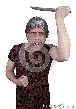Norman Bates Halloween Pyscho Crazy Man