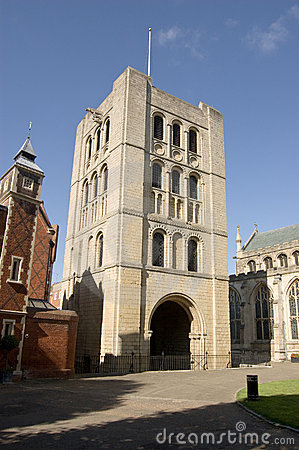 Norman tower, Bury St Edmunds