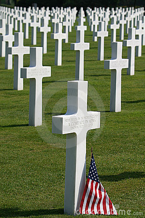 Free Normandy American Cemetery Royalty Free Stock Images - 1229209
