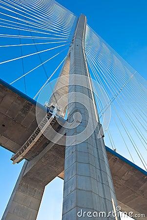 Normandy bridge (Pont de Normandie, France)