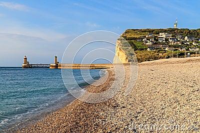 Normandy Coast near Fecamp