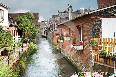 Normandy river
