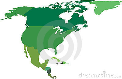 Norr Amerika central