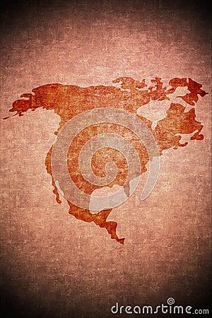 North america on paper