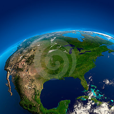 North America, the view from