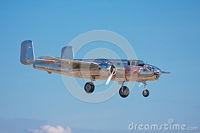North American B-25 Mitchell Editorial Photo
