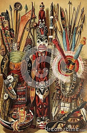 North American Indian culture