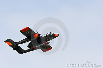 North American Rockwell OV-10 Bronco Editorial Photography