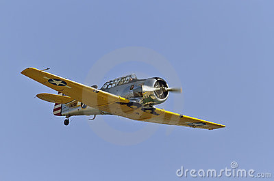 North American T-6 Texan Editorial Image