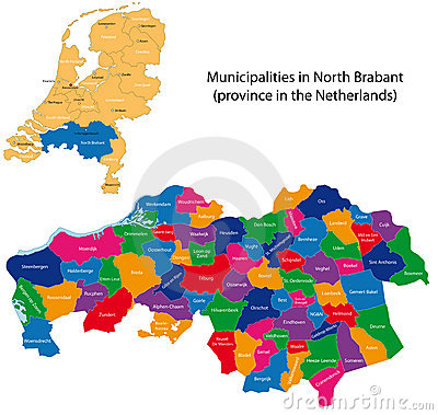 North Brabant - province of the Netherlands