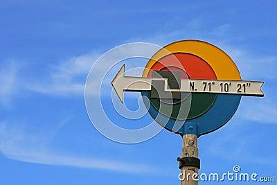 North Cape Sign