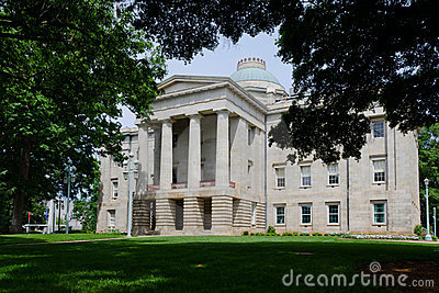 North Carolina historic state Capitol