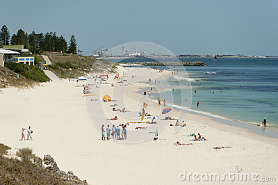 North Cottesloe Beach, Perth, Western Australia