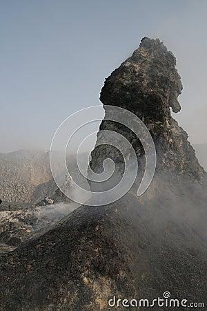 North Crater Hornito, Erta Ale volcano, Africa