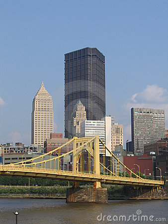 Free North Downtown Pittsburgh 2 Stock Images - 1156494