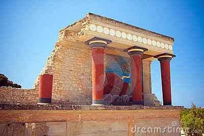 North Entrance of the Knossos Palace