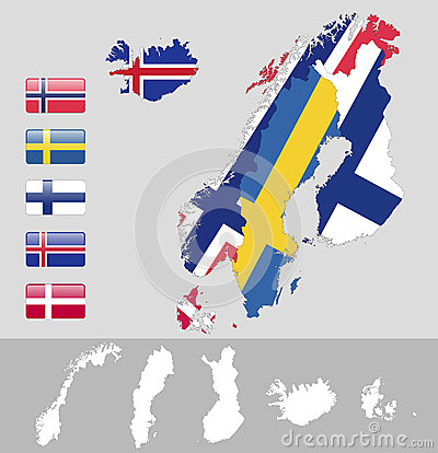 North Europe,Scandinavia