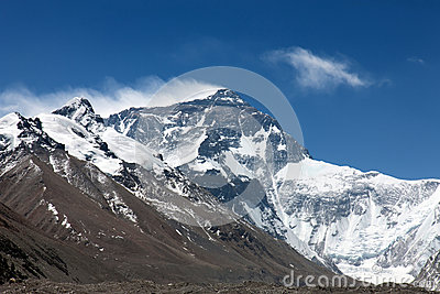 North face Mount Everest