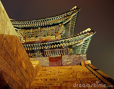 North Gate. Hwaseong Fortress, South Korea