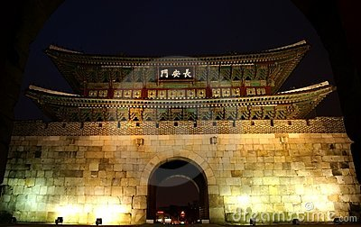 North Gate, Hwaseong Fortress, Suwon, South Korea